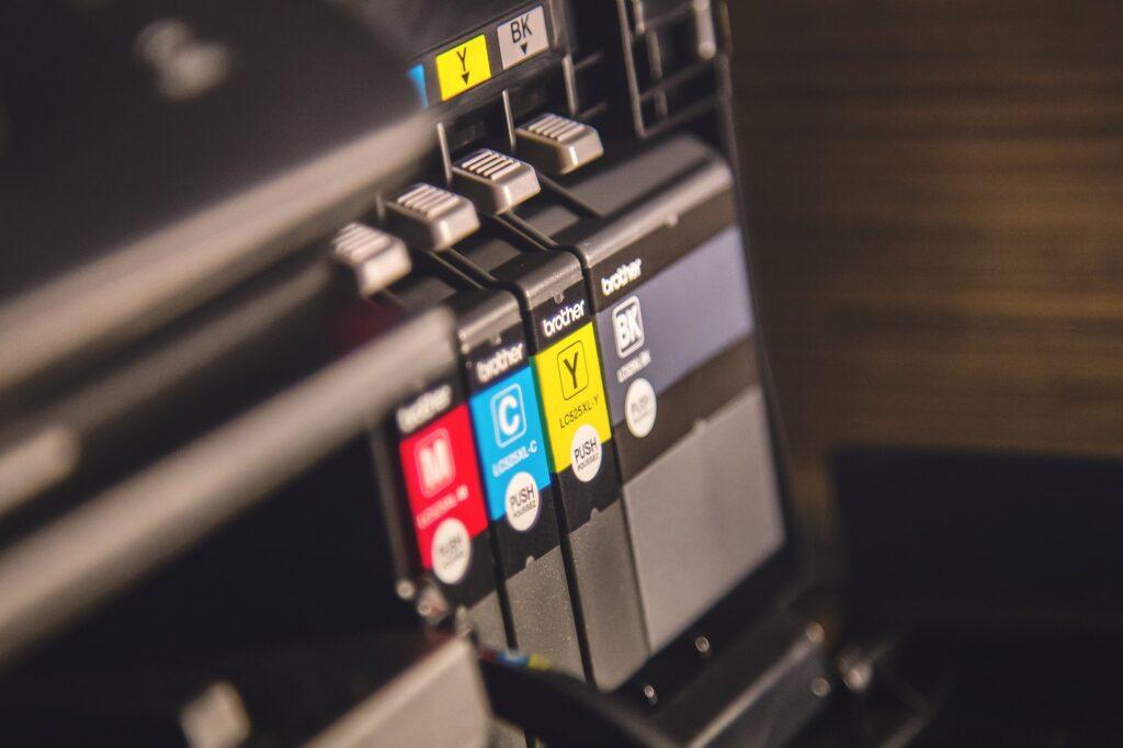 Impresora y sus cartuchos